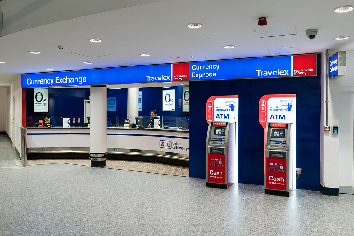 Travelex East Midlands Airport Sign Systems Uk Ltd